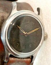 Mido multifort military look black dial bumper automatic MOD 1941 watch w/ 3 adj