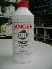 Singer Sewing Machine Oil 1 Litre Bottle All Purpose Industrial Domestic.