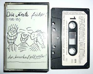 Die Ärzte - Früher / MC Kassette / 1989 / Vielklang / Tape / Der Ausverkauf...