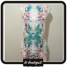 TALULAH Rainbow Dress Size S (C 4)
