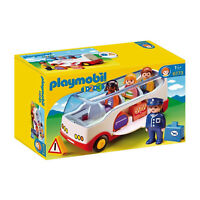 Playmobil 123 Airport Shuttle Bus Building Set 6773 NEW IN STOCK Toys