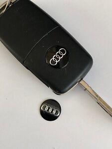 Audi Keyring Sticker x2 for standard flip key Audi  Stickers A3 A6 A8 AQ3 R8 TT