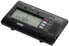 Korg Tuner Stimmgerät GA-50 für A- + E- Gitarre / Bass - Mikro oder Kabel