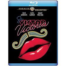 Victor/Victoria 1982 (Blu-ray) Julie Andrews, James Garner, Robert Preston - New