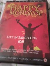 HAPPY MONDAYS Live In Barcelona 2005 DVD Widescreen POST FREE