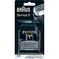 Series 51s Braun 5 Foil Cutter 8000 Replacement And 360 Razor S Electric Shaver