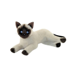 Cat Kitten Siamese Plush Stuffed Toy 30cm Blossum by Bocchetta