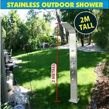 Outdoor Shower with Massage Jets Shower Backyard Home SS316 WATERMARK APPROVED