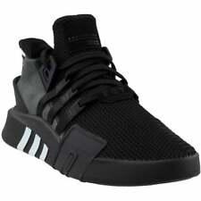 Adidas Eqt Bask ADV Tenis Deportivas Zapatos informales de hombre con cordones-Negro