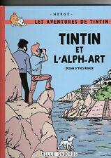 TINTIN et L'ALPH-ART RODIER HERGE + LE LAC AUX SORCIERES +  REPORTER PIGISTE