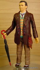 Doctor Dr Who Sylvester McCoy 7th Coat + Umbrella Figure loose NEW!
