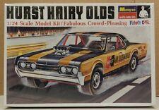 DRAG RACING HURST HAIRY OLDS FUNNY CAR 442 1967 MONOGRAM MODEL KIT