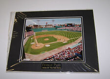 Fenway Park 11x14 Matted Photo w/Name Plate Boston Red Sox