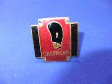 vtg badge coldstream guard enamel brass plaque regiment battalion army
