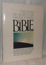 John Huston directed THE BIBLE Souvenir Illustrated Film Program Book 1966
