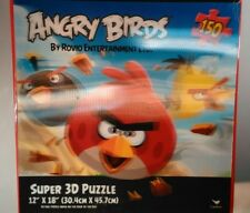 "Angry Birds Super 3D Puzzle 150 Pieces Rovio Entertainment Ltd. 12"" X 18"" New"
