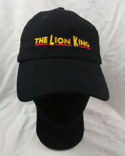 4a9755aa10a9b The Lion King Black Hat Cap Adult Adjustable Disney Broadway Musical VIP