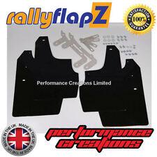 rallyflapZ adatta a SKODA FABIA VRS (03-07) Parafanghi Qty4 Nero 4mm PVC