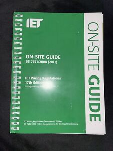 On-Site Guide (BS 7671: 2008 Wiring Regulations, Incorporating Amendment No...