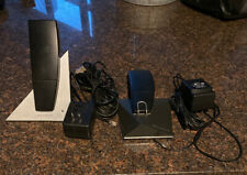 Bang & Olufsen Beocom 6000 Phone System Base + Wall Mount + 2 Handsets New Batt