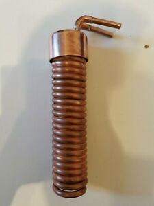 Coil condenser copper moonshine pot reflux still