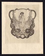 20)Nr.102- EXLIBRIS- Franz von Bayros, Erotik / erotic