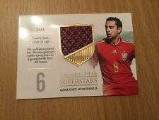 2016 Futera Unique Superstars Soccer Card Xavi 14/59