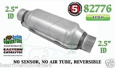 "82776 Eastern Universal Catalytic Converter ECO II 2.5"" 2 1/2"" Pipe 12"" Body"