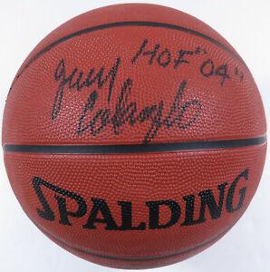Jerry Colangelo Phoenix Suns Autographed Signed Spalding NBA Basketball JSA LOA