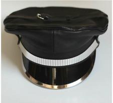 Leather Biker Gay Hat Muir Cap Military