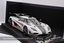 Frontiart 1:18 Koenigsegg One:1 Silver