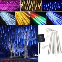 144 LED Meteor Shower Fairy String Lights Rain Drop Party Christmas Tree Lamp