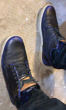 Used Men's Blue / Black timberland Mid Top Chunks boots size 10