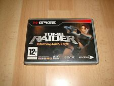 TOMB RAIDER STARRING LARA CROFT DE CORE DESIGN PARA NOKIA N·GAGE EN BUEN ESTADO