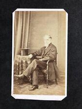 Victorian Carte De Visite CDV: Gentleman: David Gay: London: Top Hat