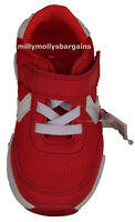 New Boys Red & White NEXT Trainers Size 6 Infants RRP £20
