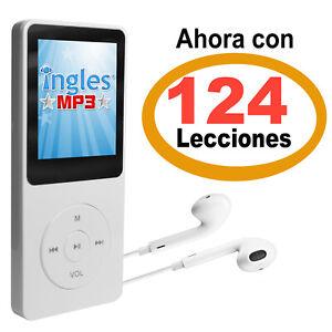 CURSO DE INGLES MP3 - Curso de Ingles portátil con 124 Lecciones en Audio.