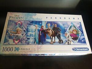 Frozen Panorama 1000 Piece Puzzle Clementoni Complete