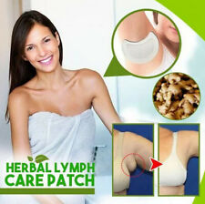 1/5/10x Herbal Lymph Care Patch Neck Anti-Swelling Sticker Breast Lymph Node