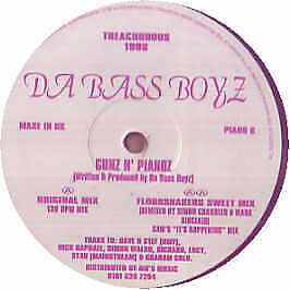 Da Bass Boyz - Gunz N' Pianoz - Treacherous - 1996 #133867
