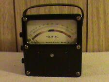 Vintage Weston Model 433 Ac Amp Meter Ammeter Antique Nice Clean