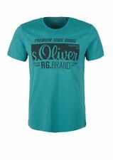 20884284a82661 Herren T-Shirt mit s.Oliver Signature-Print viele neue Farben
