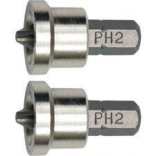 SBS PH2 Bit mit Tiefenanschlag S2 Stahl Trockenbau Schnellbauschrauben Rigibs