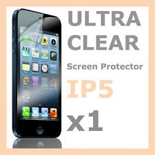 1 x Ultra Crystal Clear Screen Protector LCD Film for Apple iPhone 5S 5C 5 SE