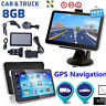 "7"" TRUCK CAR GPS SAT NAV NAVIGATION SYSTEM NAVIGATOR 8GB AU+UK+EU FREE MAP"