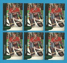 "1992-93 Parkhurst Hockey Patrick Roy ""Emerald Ice"" Card Lot (6) $$$$"