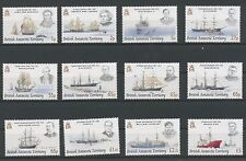 (W0211) B.A.T., SHIPS/EXPLORERS 2008, COMPLETE SET, UM/MNH, SEE SCAN