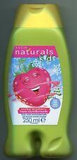 (100 ml = 2,00 €) Avon Naturals Kids Swirling Strawberry Duschgel & Schaumbad