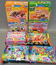 DIY Kracie Happy Kitchen popin cookin  Japanese candy lot of 8pcs Japan food