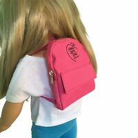 Pink Doll Backpack for 18 inch Doll - Pink Doll Backpack Fits  For 18 Inch Dolls
